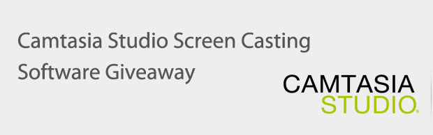 banner Camtasia Studio Screen Casting Software Giveaway