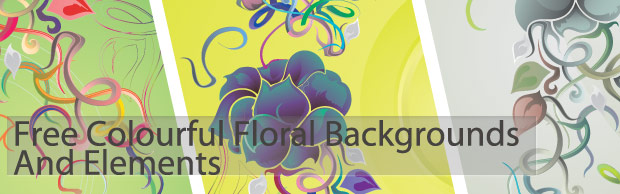 banner preview Free Colourful Floral Backgrounds And Elements